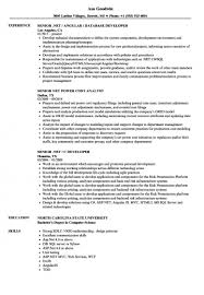Sample Dot Net Resume For Experienced Best Of Resumes Net Resume For Freshers Years Of It Experience Dot Sample