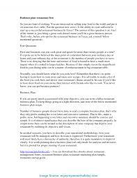Restaurant Cover Letter Useful Restaurant Business Plan Cover Letter Sample Guidelines For 17