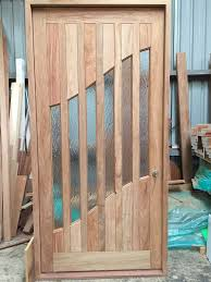 solid timber front and entry doors