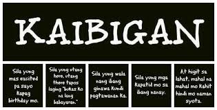 Quotes Tagalog About Friendship Cool Kaibigan Talaga Things I Love Pinterest Friendship Quotes And