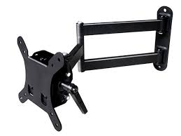mono le series full motion articulating tv wall mount bracket for tvs 10in to