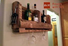 pallet wine glass rack. How To Make A Pallet Wine Rack With Diy Glass Ideas