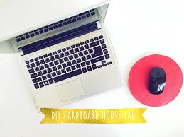 don t have a mouse pad make one fom scratch easy diy to