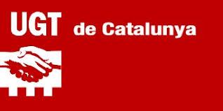Resultado de imagen de logo ugt catalunya