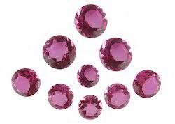 Tourmaline Color Chart Pink Tourmaline Quartz Doublet Loose Gemstone