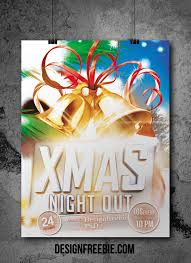 christmas party psd flyer template psd flyer template