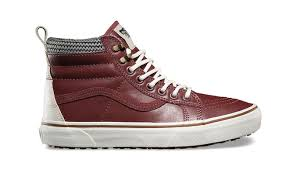 vans sk8 hi mte brown leather