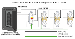 wiring diagram gfci outlet valid 2 pole gfci breaker wiring diagram wiring diagram for a gfci breaker save circuit breaker diagram new gfci breaker wiring diagram