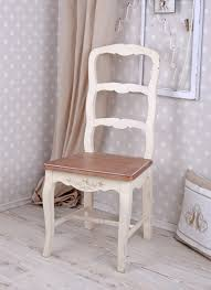 Details About Shabby Chic Chair Vintage Retro Dining Chair Altweiss Wooden Chair Country House Style Show Original Title