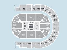 Boxing Seating Plan The O2 Arena