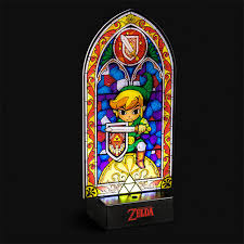 just fire up your nintendo console turn the other lights out light a candle or two and play by the light of this simulated stained glass window inspired