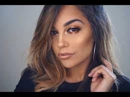 fall full glam makeup tutorial juvia s nubian palette