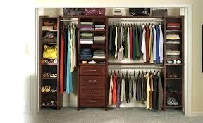 closetmaid laminate closet organizer s closetmaid suitesymphony laminate closet organizer