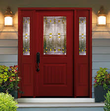 Residential Front Doors Fiberglass Collection R Throughout Simple Ideas