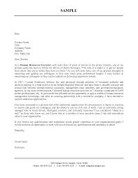 Sample Cover Letter For Resume In Word Format Resume Ideas
