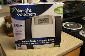 superieur weight watchers by conair glass ysis scale model ww78