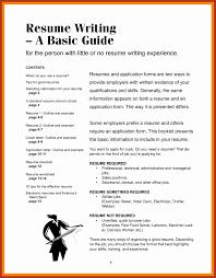 Resume Writing Format Lovely Tar Resume Template Fresh American
