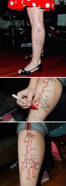 остроумные татуировки которые имеют сокрытый смысл Vinegret