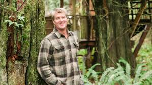 Treehouse masters treehouse point Issaquah Wa Pete Nelson Master Treehouse Builder And Star Of The Tv Show Treehouse Masters Has Created Special Spots For People Among The Trees At Treehouse Point Curbed Seattle Pete Nelson Local Tree Whisperer And Pete Nelson Local Tree