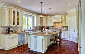 incredible kitchen cabinet painting antique white country style white kitchen cabinets with antique brown granite and dark parquet flooring and hanged