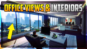 bank and office interiors. GTA 5 Online: Finance And Felony DLC: All Office Interior Options Executive Contrast Maze Bank Tower Interiors