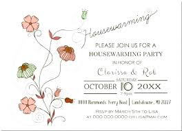 Housewarming Card Template House Warming Ceremony Invitation Sample