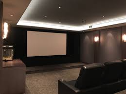 layered lighting. Home Theater With Layered Lighting I