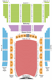 Lyric Opera Seating Chart Lyric Opera House Seating Chart Baltimore