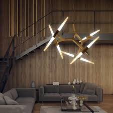 İtalian lighting creative branch arts pendant light lamp modern italian design personality living room restaurant jazxqxo