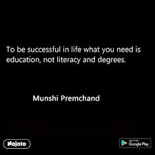 Munshi Premchand Quotes In English Munshipremchan Nojoto