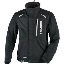Mens Black Pro Snowmobile Jacket