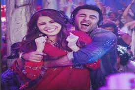 the song that has a peppy vibe to it features hka and ranbir having a ball
