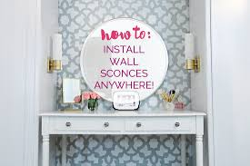 install wall sconces out wiring install image iheart organizing how to install light sconces anywhere on install wall sconces out wiring