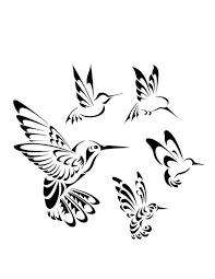 tribal hummingbird tattoo drawing. Perfect Hummingbird Interest Tattoo Ideas And Design  Black Ink Tribal Hummingbird Tattoo  Designu2026 And Drawing Pinterest