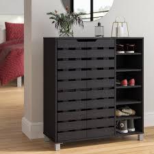 24-Pair Shoe Storage Cabinet