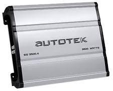 infinity amplifier. autotek ss3500.4 super sport 3500w 4-channel car audio amplifier class a/ infinity
