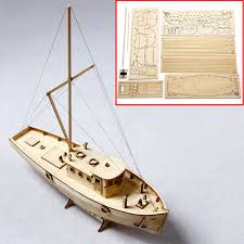 diy kits 1 50 scale wooden sailing boat model ship assembly building educational