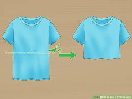 image titled cut a tshirt cute step 1