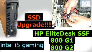 ssd hd upgrade hp elite 800 g1 hp elite 800 g2 small form factor desktop