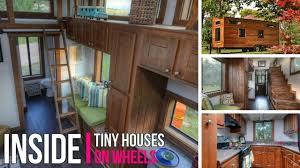 Inside Tiny Houses On Wheels Best Tiny House  YouTube - Tiny house on wheels interior