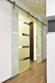 hardened glass doors