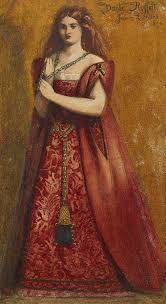 dante gabriel rossetti painting rosso vestita by dante gabriel rossetti