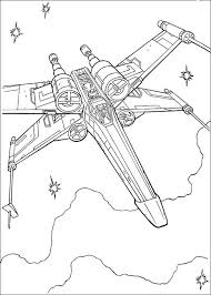 Star Wars Printable Coloring Pages Party Star Wars Spaceships