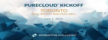 Interactive Intelligence Canadian Purecloud Kick Off Reception