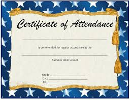 free perfect attendance certificate printable perfect attendance certificate template reeviewer co
