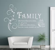 family like branches quotes butterfly vinyl wall art sticker flower decals mural removable poster for living room home decor in wall stickers from home  on wall art quote stickers uk with family like branches quotes butterfly vinyl wall art sticker flower