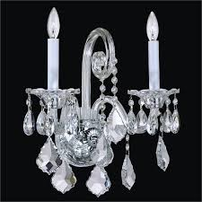 crystal candle wall sconce dynasty 557aws2lsp 3