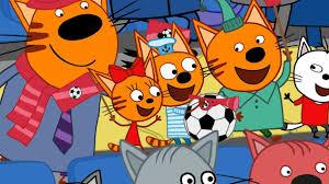 <b>Три кота</b> | Чемпионат | Серия 62 | Мультфильмы для детей ...