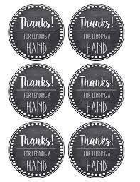 Thank You Teacher Appreciation Tags Free Printable Paper Trail