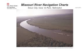 Missouri River Navigation Charts Sioux City Iowa To Rulo
